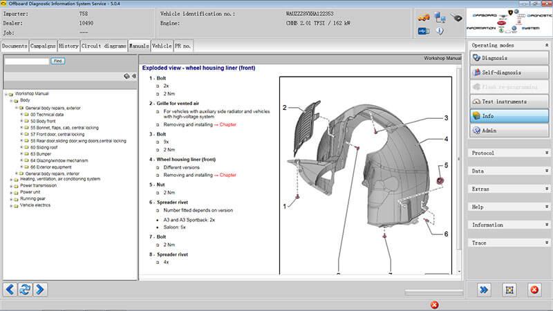 odis elsapro online access Alternator Wiring Schematic