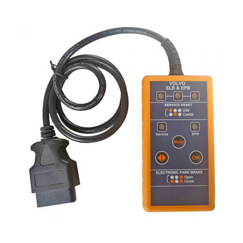 Volvo Service Reset /& Electronic Park Brake Tool supports Resetting Service