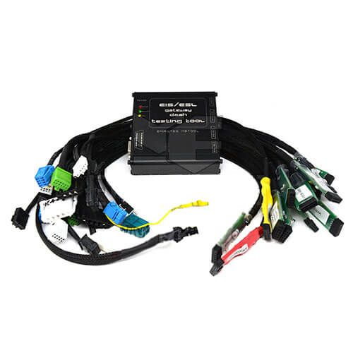 Mercedes Benz EZS EIS ELV ESL Dash Gate-way Full Test Cables with OBD