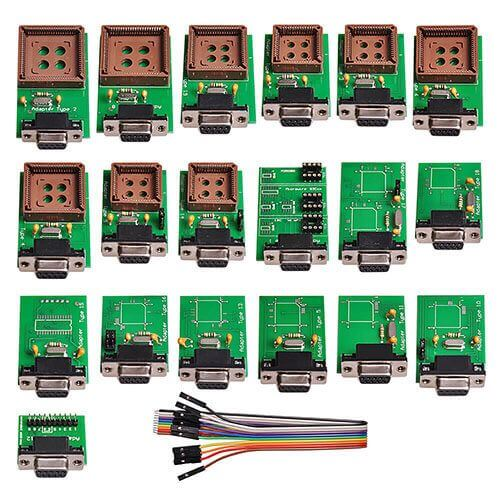 (19 pcs) UPA Full Adapters Kit for UUSP UPA-USB Serial Programmer