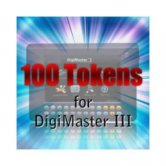 100 Tokens Recharge Digimaster III CKM100 CKM200