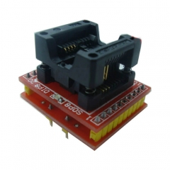 SOIC8 SOP8-DIP8 IC Programming Adapter Double PCB with LED Indicator