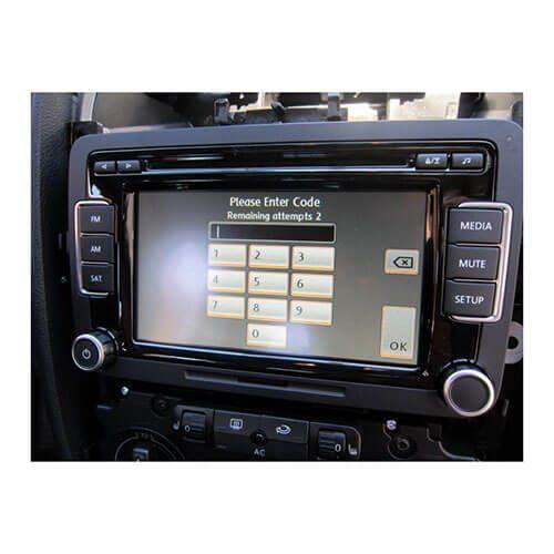 Obtenez le code radio VW AUDI SKODA à partir du numéro de série stéréo