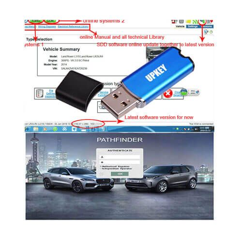 UPKEY JLR Full Access Online System for Ja-guar & LandRover TOPIx + Engineer Login