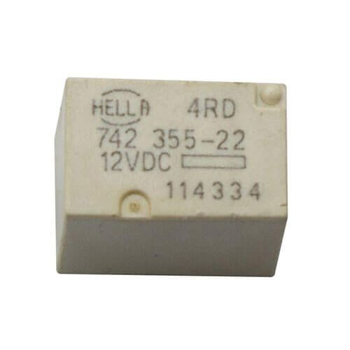 HELLA Relay 4RD 742 355-22 12VDC for Chevrolet Cruze High Beam