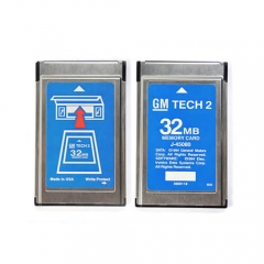GM Tech2 Software in PCMCIA Memory Card