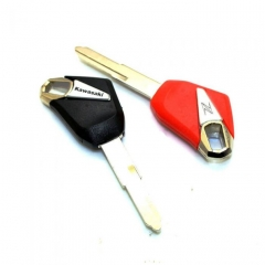 Kawa-saki Z1000 Motorbike Transponder Key Shell No Chip