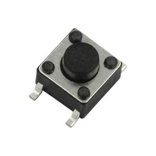 Remote Button Switch Model 6X6X5.0H