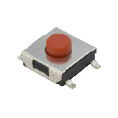 Button Tactile Switch Face To Face Universal 6.2X6.2X3.5H