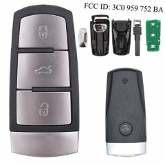 VW Smart Remote Key Fob Magotan Passat CC - 3C0 959 752 BA