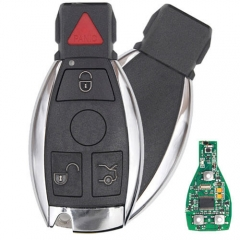 BGA Remote Smart Key for Mercedes-Benz Silver Key 4 Buttons 315MHz