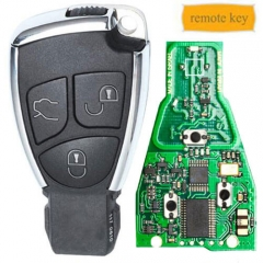MB Remote Smart Key Fob with 315MHz Board 3 Buttons for Mercedes-Benz Before 2014 MY