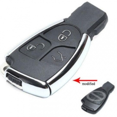 New Modified Mercedes Remote Shell Smart Key Fob 3 Buttons for Benz CLS C E S