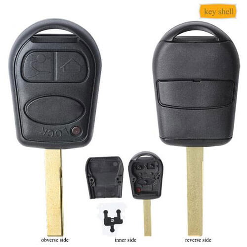 Car Key Remote Cover 3/Buttons Land Range Rover 3/L322/Shell with Blade