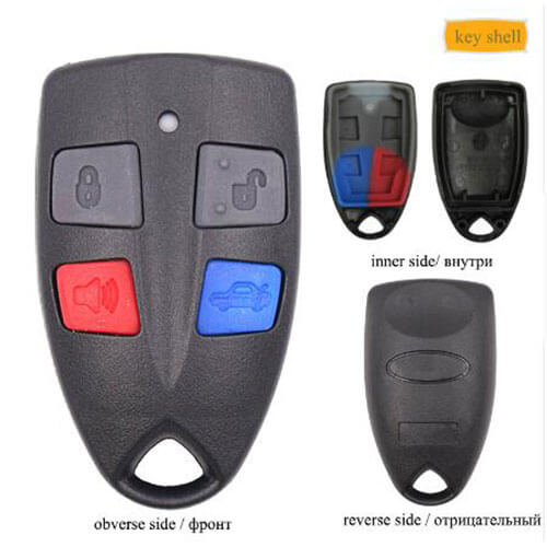 Ford Remote Shell 4 Buttons for Focus Taurus Territory Tribute Falcon 2002-2007