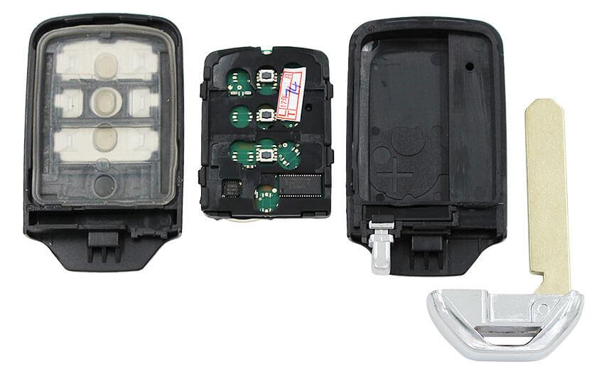 honda crv smart remote key fob mhz  buttons