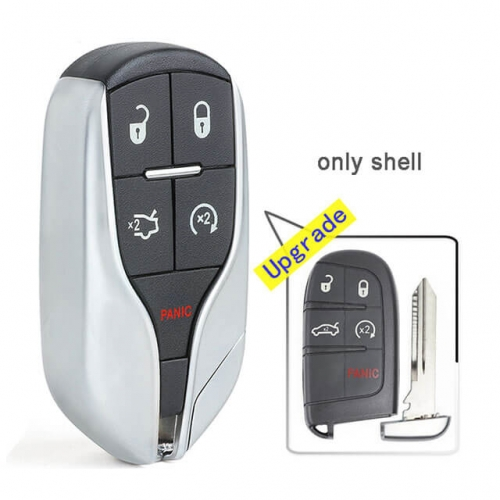 Upgraded Remote Shell for Replace Chry*sler Dodge Challenger Charger Smart Key Fob