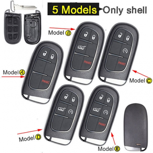 Jeep Cherokee Smart Key Remote Shell for RAM 1500 2500 3500 Fob
