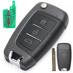 2008-2019 Hyunda*i Accent Flip Key Remote Set 433MHz 3 Buttons Fob -95430-H5500