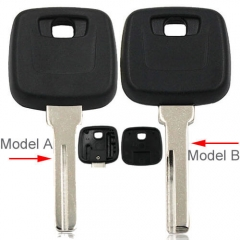 Volvo Transponder Key Shell with Blank Blade Fits For S40 V40