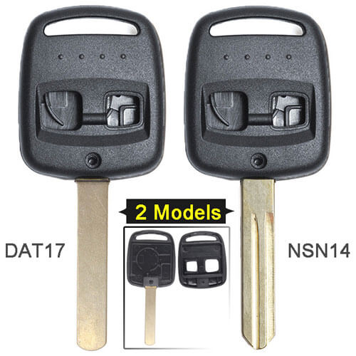Subaru Impreza Remote Key Shell 2 Button for Legac*y Forester Outback