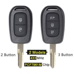 Renaul*t Remote Key 433MHz with PCF7961M Chip for Sandero Dacia Logan Lodgy Dokker Duster