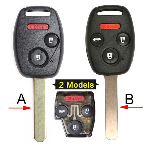 2005-2008 Hond*a Pilot Remote Key Fob 313.8MHz 3/ 4 Buttons