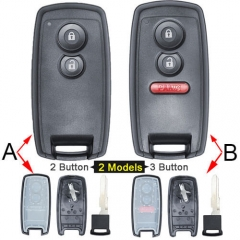Suzuk*i Grand Smart Key Remote Shell 2/ 3 Buttons with Blade Uncut for Vitara Swift SX4 SX-4 XL-7