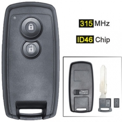 Suzuk*i SX4 Smart Remote Key 315MHz 2 Buttons Fob with ID46 Chip for Grand Vitara Swift