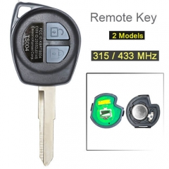 2007-2013 Suzuk*i SX4 Remote Key 315/ 433 MHz 2 Buttons Fob