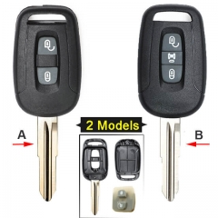 Chevrole*t Captiva Combo Remote Key Shell 2/ 3 Buttons with Blade Uncut