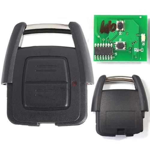 GM Remote Transmitter 433.92MHz 2 Buttons for Opel Vauxhall Astra Zafira Omega Vectra -24424723