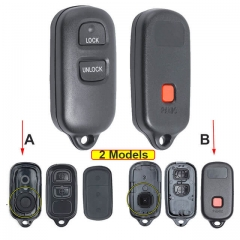Toyot*a Remote Key Shell 3 Buttons for Highlander RAV4 FJ Cruiser Tacoma