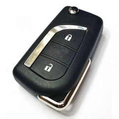 2012 Toyot*a AYGO AURIS RAV4 Remote Flip Key 433MHz 2 Buttons with Toy48 Blade -VALEO A03TAA