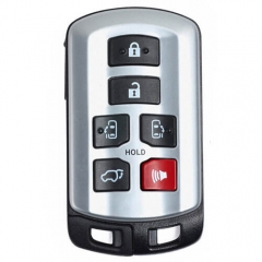 2011-2016 Toyot*a Sienna Smart Key-5691 Remote Card 6 Buttons ID74 with Emergency Blade -HYQ14ADR