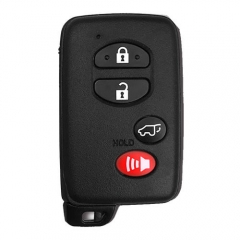Black Smart Key SUV Remote Card 4 Buttons with TOY48 Emergency Blade for Toyot*a