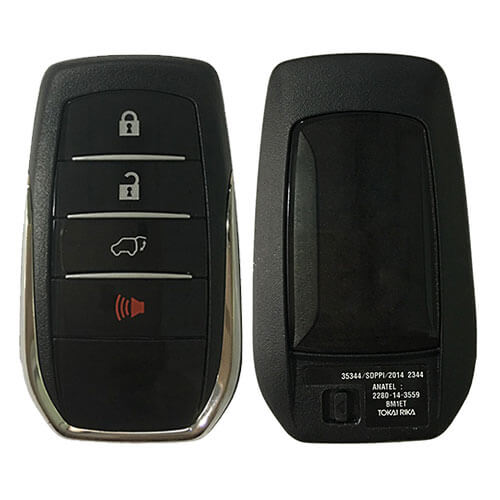 Toyot*a Smart Key Remote Card (Tokai Riki) BM1EW 433.5MHz/ 434MHz 4 Buttons