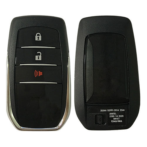 Toyot*a Smart Key Remote Card (Tokai Riki) BM1EW 433.5MHz/ 434MHz 3 Buttons