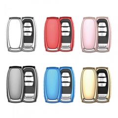 Aeleo A101 TPU Smart Key Cover Case for Audi Q7 Keyless Entry Remote Fob