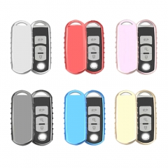 Aeleo A114 TPU Smart Key Cover Case for Mazda CX5 Keyless Entry Remote Fob