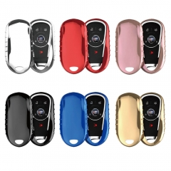 Aeleo A104 TPU Smart Key Cover Case for Buick Chevrolet Keyless Entry Remote Fob