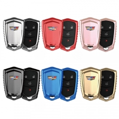 Aeleo A105 TPU Smart Key Cover Case for New Cadilla*c Keyless Entry Remote Fob