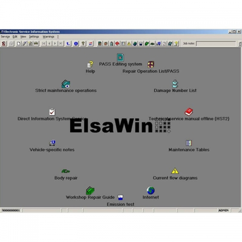 Download Link VMWare ElsaWin6 Audi VW Diagnostic Guide -Wiring Diagram -Repair Manual