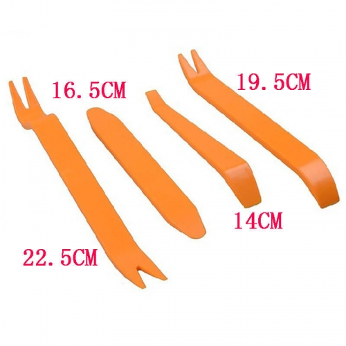 Car Audio Removal Tool Kit Plastic Prying Repair Opening Tool 4Pcs/set