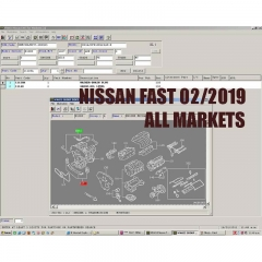 Nissa*n FAST with Infiniti EPC 2019 Parts Catalog incl Archive Models [02/2019]