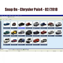 Snap On - Chrysle*r PAIS4 2018 Spare Parts Catalog ( 1 Year)
