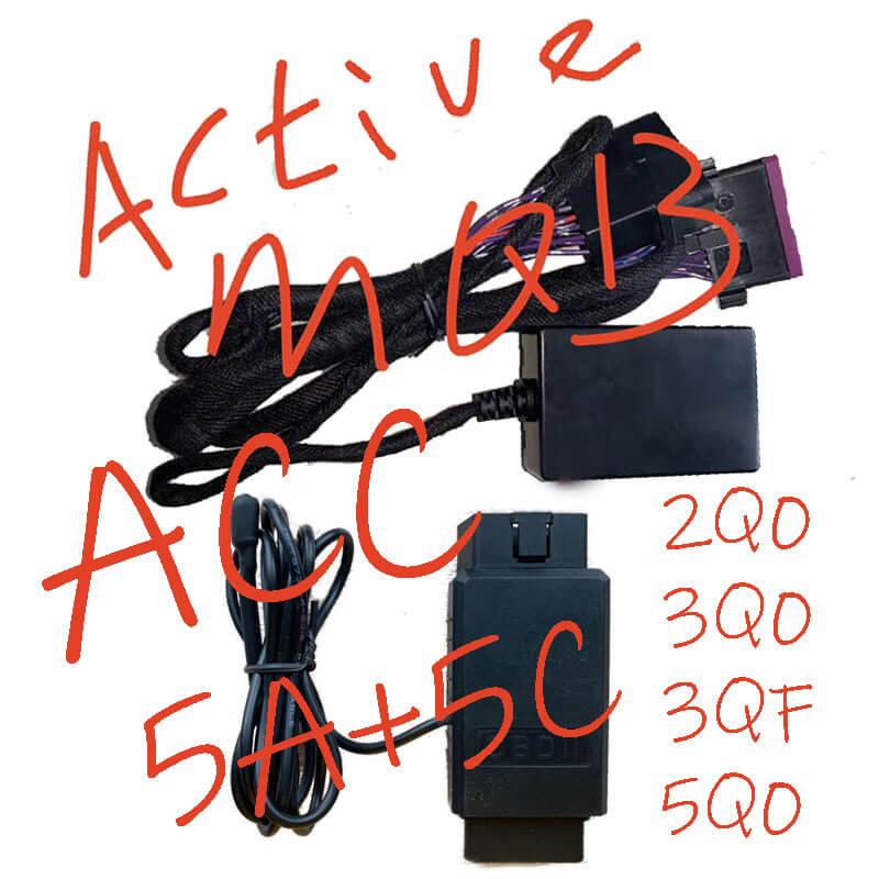 2020 MQB Tool Support 3Q0 5Q0 Immobilisation 5A 5C voiture ACC / régulateur de vitesse / mode conducteur / Blue-tooth / App Connect / activation de la fonction 5F