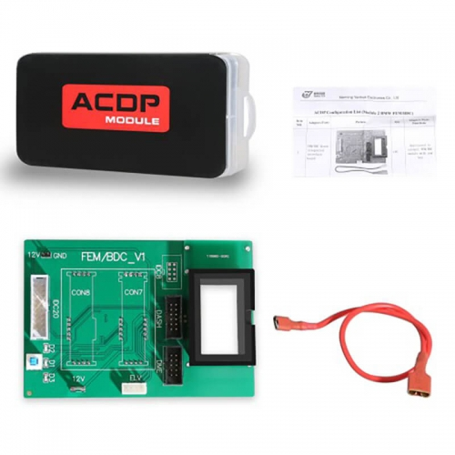 Yanhua Mini ACDP Module2 for BMW FEM/BDC Support Adding Key/All-key-lost/ Mileage Reset via In Circuit Programming (ICP) Mode.