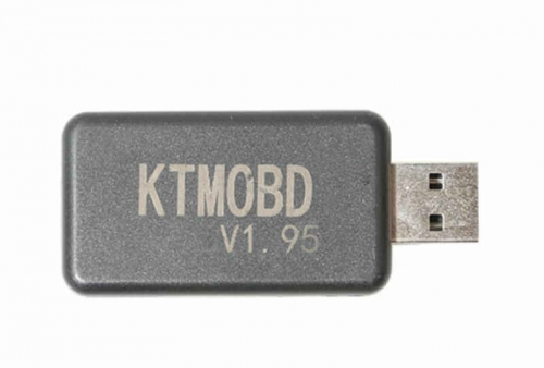 Software V1.95 KTMOBD USB Dongle without the J2534 Interface for Car ECU Gearbox Power Flashing