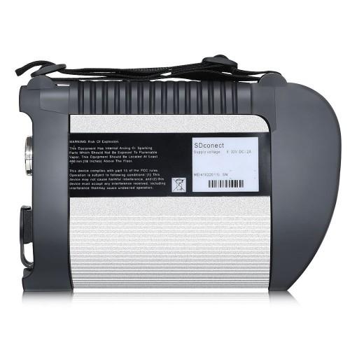 Meilleure qualité Merceds Benz Star C4 + DOIP VCI MB Star Diagnostic SD (SDconnect C4 PLUS) prend en charge le logiciel officiel pour les voitures et les camions